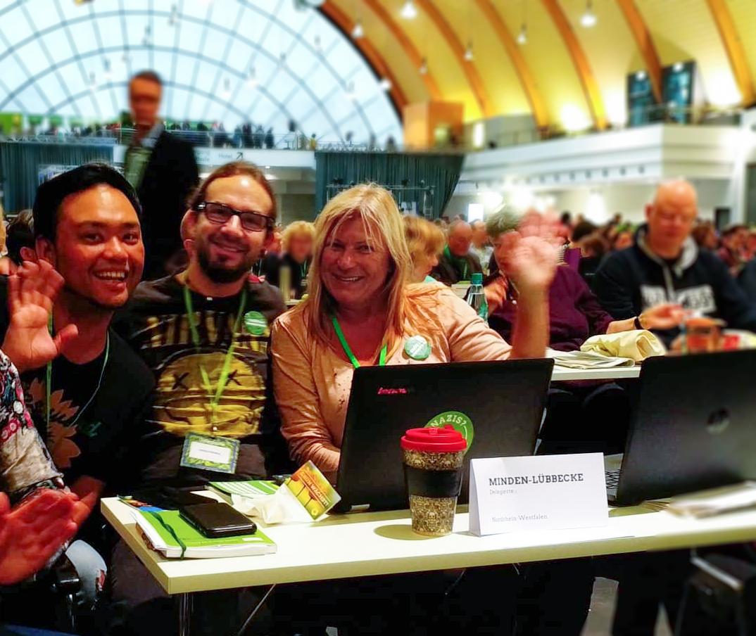 Delegierte aus Hüllhorst bei der BDK