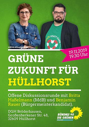 Offene Gesprächsrunde mit Britta Haßelmann