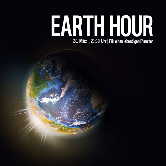 Earth Hour am 28. März