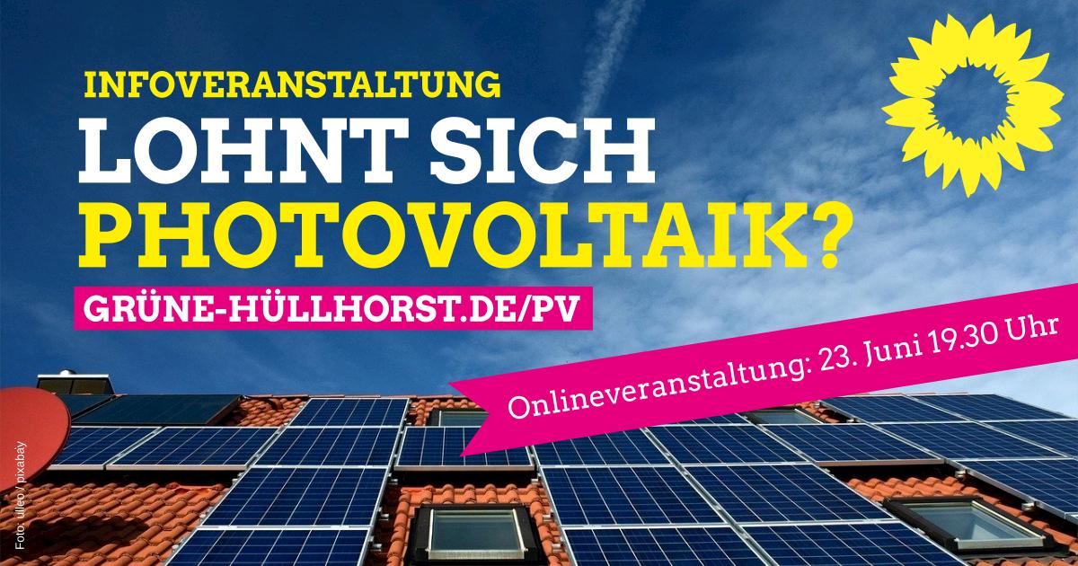 Lohnt sich Photovoltaik noch?